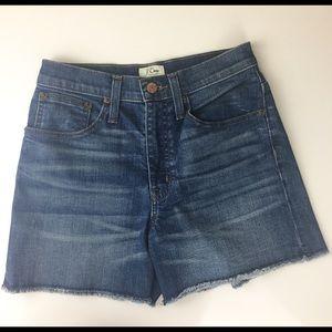 J. Crew Shorts - J. Crew Denim Short Shorts